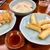 宇都宮みんみん - 料理写真:餃子3種類にビールでしばし至福の時…