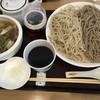 蕎麦 二天 - 料理写真:ざる 二色 牛ホルモン 1150円