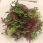 ビアンカーネ - ベビーリーフのサラダ