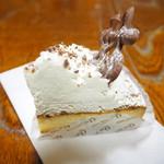 ケセラセラ - リコッタチーズとマロンのケーキ