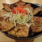 八重洲 串や  - 炭火焼き豚丼
