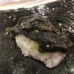 第三春美鮨 - 鮃黒皮備長炭炙り