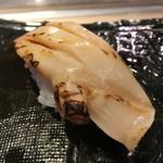 第三春美鮨 - 北寄貝 特大 備長炭炙り桁曳き網漁 北海道八雲