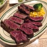 シカゴステーキ オーロラ - イチボとサガリ