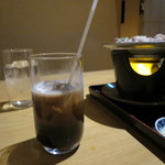 北の魚づくし - アイスコーヒ―(加糖・ミルク入り)(2017年2月)