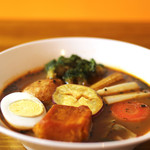 スープカレーゆうじ - 野菜カレー