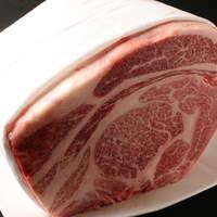 A5 鹿児島黒牛のサーロインステーキ (100g)