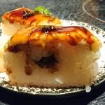 つるとんたん - 穴子棒寿司   アップ