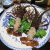 民宿 えびす屋 - 料理写真:【夕】伊勢エビ刺身二人前