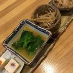 調布 清水 - 前菜盛り合わせ