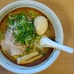 すすきの亭 - 料理写真:みそラーメン+煮玉子