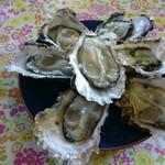 中山牡蠣養殖所 - 生牡蠣