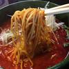 同楽舎 - 料理写真:3辛。低加水目で美味い麺