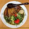 らーめん食堂にこにこ - 料理写真:ロースラーメン+味付たまご