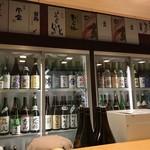 日本酒スローフード とやま方舟 - 日本酒冷蔵庫です。
