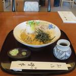 峰本 - 料理写真:自然薯そば