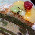 お菓子の工房 がとぅぎゃらりぃ - 抹茶のティラミス