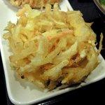 63141749 - 丸亀製麺 「野菜かき揚げ天」