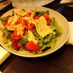 63142989 - 湯葉とトマトのサラダ