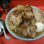 ラーメン富士丸 - 国産ぶためん 麺半分