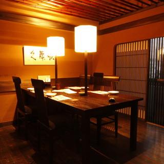 個室は全10室。2名様~最大70名様までご対応可能です。