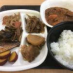 コイズミデリカテッセン - お惣菜バイキング一例