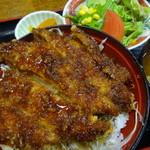 昭和軒 - (ソースがけ)かつ丼