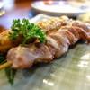 鳥益 - 料理写真:美味しい砂肝とつくね