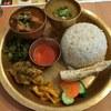 ネパール ミテリキッチンレストラン&バー - 料理写真:「ネパールセット」1,300円