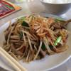 大介 - 料理写真:ニラレバ定食 450円