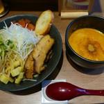 つけめん・らーめん 海老鶏麺蔵 - 海老つけ麺(850円)