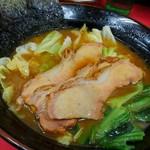 田上家 - 麺を食べ終えたら、これがご飯のおかず達です。