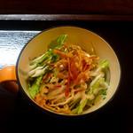 一酵や - 前菜のサラダ