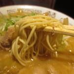 ヒノマル食堂 - 細麺ストレート
