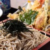 竹扇 - 料理写真:天ざる