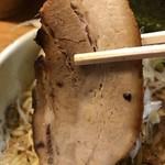 破顔 - 【2017.2.23】豚バラの三枚肉使用のチャーシュー。