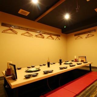 8~16名様完全個室有/各種ご宴会は完全個室で