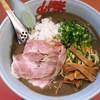 山岡家 - 料理写真:鬼煮干しラーメン(中盛)+チャーシュー2枚増し