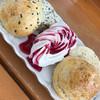 珈琲の店 LIFE - 料理写真:プレーンスコーンとゴマスコーン