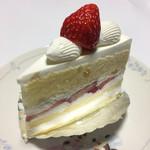 シェルブール - いちごのショートケーキ