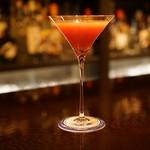 バー ノーブル - 苺のフレッシュフルーツカクテル