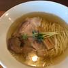 麺処 清水 - 料理写真:塩煮干しそば ¥500