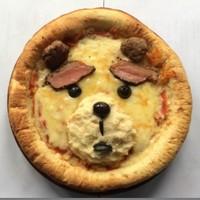 Ted顔面ピザ 可愛く撮ってSNSにアップしてね♪