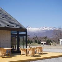 駒ケ岳を眺めながらの食事