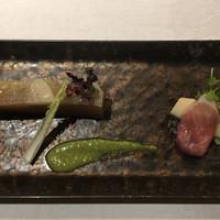 SAMURAI dos Premium Steak House-大根のミルフィーユ仕立て