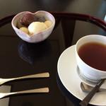 御料理 自治医大 多門 - デザートと紅茶は別料金