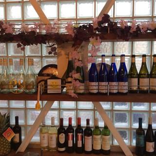 【輸入ワイン】厳選されたチーズカフェのワイン♪