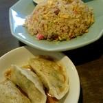 中華 味一 - ランチ『焼飯』¥660-『水餃子3個』¥100-