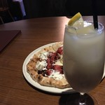 雪の窯珈琲 - 甘酒レモネード