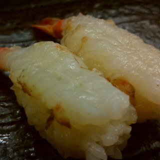 寿司処 伸福 - 料理写真:がすえび